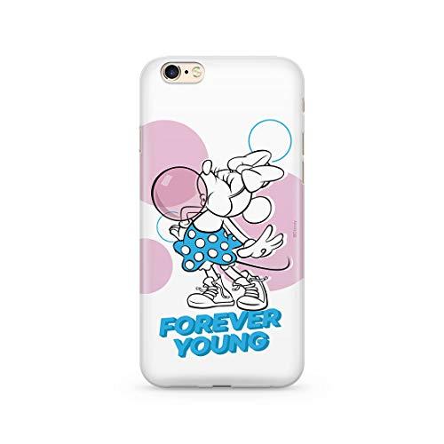 Estuche para iPhone 6 Plus Disney Mickey and Minnie Original con Licencia Oficial, Carcasa, Funda, Estuche de Material sintético TPU-Silicona, Protege de Golpes y rayones