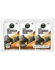 Bibigo:Snack Crujiente De Algas Con Sesamo 6X15G