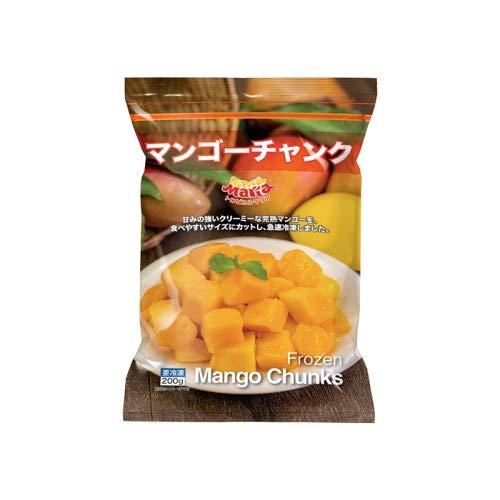 【冷凍】アスク マンゴーチャンク 200gX6袋