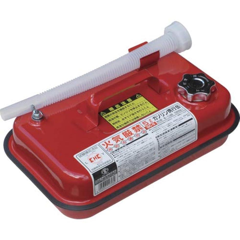 持続的ダメージフェデレーションガソリン携行缶 5L 消防法適合品