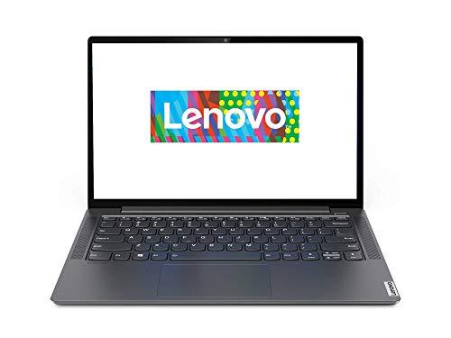 Lenovo Yoga S740 Laptop 35,6 cm (14 Zoll, 1920x1080, Full HD, WideView) Slim Notebook (Intel Core i7-1065G7, 16GB RAM, 512GB SSD, NVIDIA GeForce MX250, Windows 10 Home) grau