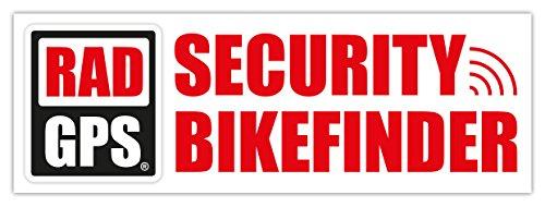 2x RAD GPS ALARM AUFKLEBER | 100x35 mm | FAHRRAD SICHERUNG BIKEFINDER TRACKER BIKE SECURE RENNRAD MTB BICYCLE TRACKER DIEBSTAHLSICHERUNG ANTI THEFT WARNING STICKER SET PEILSENDER FAHRRADDIEBSTAHL