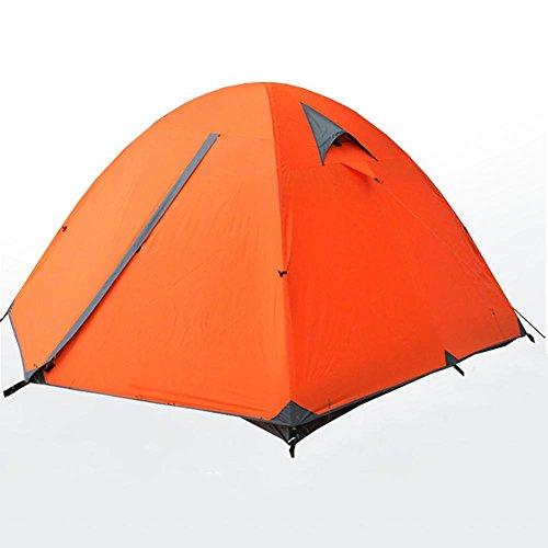 Miao extérieur 2–3 personnes Double couche empêcher la pluie Tente de camping