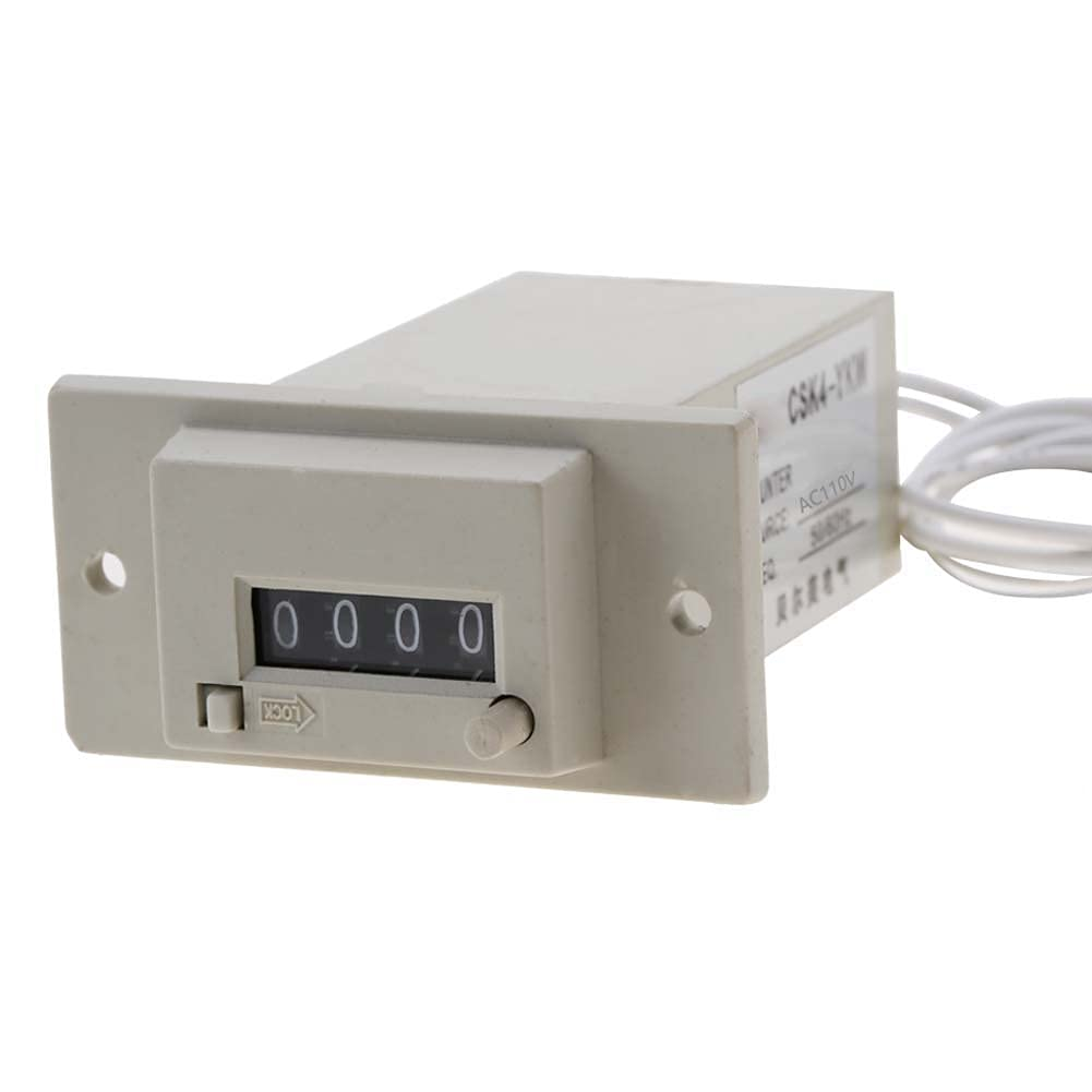 4 Digit Pulse Counter Easy Store to Electromagnetic Translated Co half