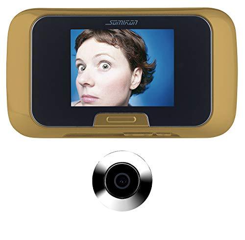 Somikon Türspion elektronisch: Digitale Türspion-Kamera mit manueller Foto- und Videoaufnahme (Video Türspion)