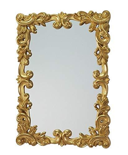 Lnxp XXL Designer Wandspiegel ANTIK BAROCK Rokoko 100x70cm in Gold UVP 699€ Spiegel Woe