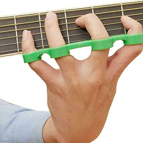 Gitarrenfinger-expander, Kunststoff-fingertrage, Finger-expansions-force-span-Übungs-trainer-tool Für Gitarren-bass-klavier-ukulelenmusik (L)