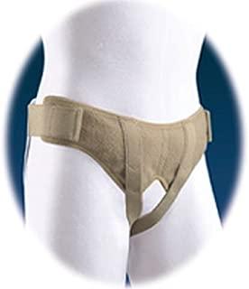 Florida Orthopedics Soft Form Hernia Belt - #67-350500 - Size Medium - Completely Adjustable Without Metal Snaps or Buckles