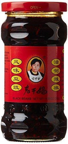 Laoganma (Lao Gan Ma) Black Beans Chili Sauce, 9.88OZ, 1 Bottle by Lao Gan Ma