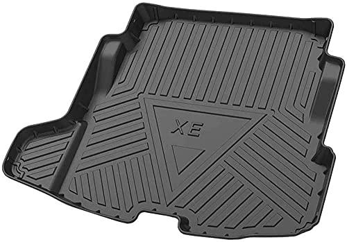 Car Kofferraummatte für Jaguar XE 2018-2020, Kofferraummatte zuschneidbare Gummimatte Antirutsch fahrzeugspezifisch