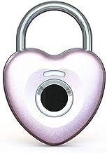 GPWDSN vingerafdruk hangslot Smart Touch Lock metalen waterdicht anti-diefstal intelligente sleutelloze voor gym locker, s...