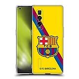 Head Case Designs Licenciado Oficialmente FC Barcelona Segunda equipación 2019/20 Crest Kit Carcasa de Gel de Silicona Compatible con OPPO Find X2 Pro 5G