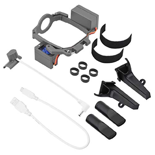 SHOTAY 1Set Dispensador de Dispositivo de Entrega de propuestas de Boda Profesional para Mavic 2 Pro/Zoom Drone Air Dropping Transport Gift Grey