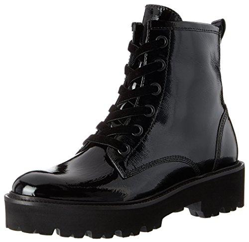 Kennel und Schmenger Kennel und Schmenger Bobby, Damen Combat Boots, Schwarz (Schwarz Sohle Schwarz), 40.5 EU (7 UK)