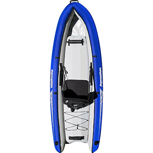 Aquaglide Gommone aublasbares Kayak Rogue One XP, 244 cm x 91,5 cm L B Aria Boot 1 Person