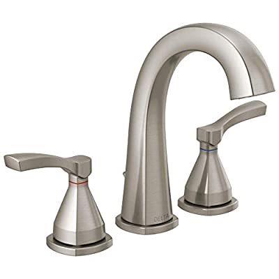 Delta Faucet 35775-SSMPU-DST Faucet Widespread, Stainless