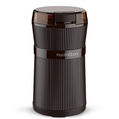 コーヒーミル 令和元年最新版コーヒーグラインダー 電動コーヒーミル ワンタッチで自動挽き コーヒーミル 200Wハイパワー 急速挽き コーヒーグラインダー 最新改良版水洗い可能 掃除ブラシ付き掃除簡単 電動コーヒーミル 過熱保護安心安全 収納できるコード 家庭主婦/商务人士に大ヒット