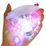 Aocean Moireouce RGB Glow Light Underwater LED Disco Acuario Glow Light Impermeable en la bañera Estanque Piscina SPA Bañera de hidromasaje Lámpara Flotante con 5 Modos de patrón
