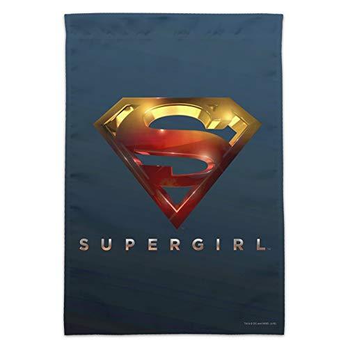GRAPHICS & MORE Supergirl TV-Serie Logo Garten Hofflagge Flag Only (No Pole) Multi