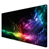 Benvo Extended Mouse Pad Large Gaming Mouse Pad- 35.4x15.7x0.12 inch Computer Keyboard Mouse Mat Non-Slip Mousepad...