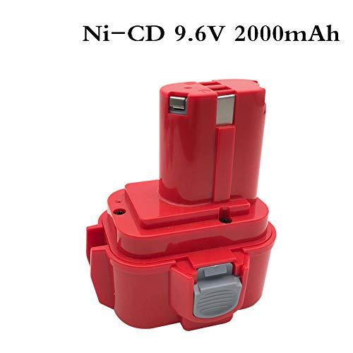 9.6V 2000mAh Batería Batería Recargable Herramientas eléctricas Batería Taladro inalámbrico para Makita 9120 PA09