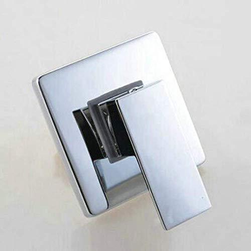 JINKEBIN Dusche Set. Verdeckte Dusche-Hahn-Mischer-Hahn- Ventil In Wandmontage Platz Duschpaneel aus Messing verchromt Tap