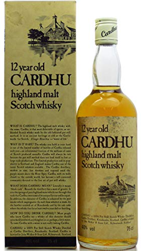 Cardhu - Highland Single Malt - 12 year old Whisky