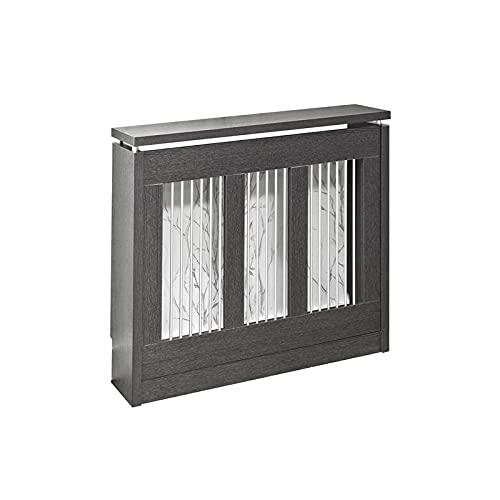 TOP KIT   Cubre radiador Cristian 3091-90 x 84 x 18   Wengué