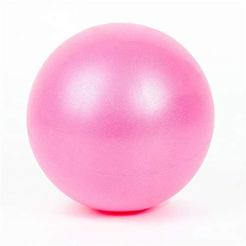 Mini Yoga Ball Exercxise Ball Pilates Fitness Training Anti-Slip Sport Fitball, 10 inch Pink