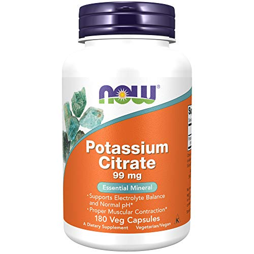 NOW Potassium Citrate - 99 mg