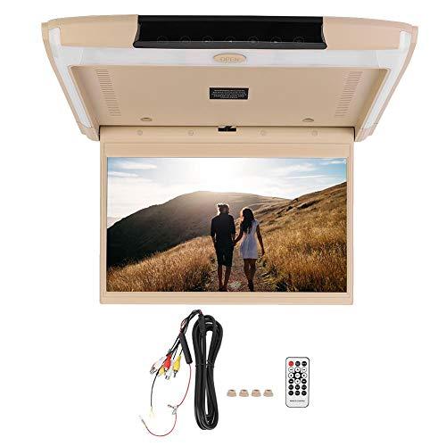 Auto gemonteerde TV, 12,5 inch IPS scherm auto 1080P DVD Monitor plafondmontage draadloos met HDMI USB voor Android 6.0