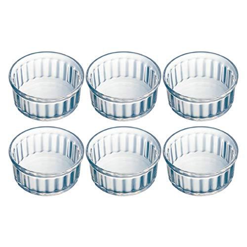 Pyrex Set of 6 10cm Glass Ramekins - Classic Collection