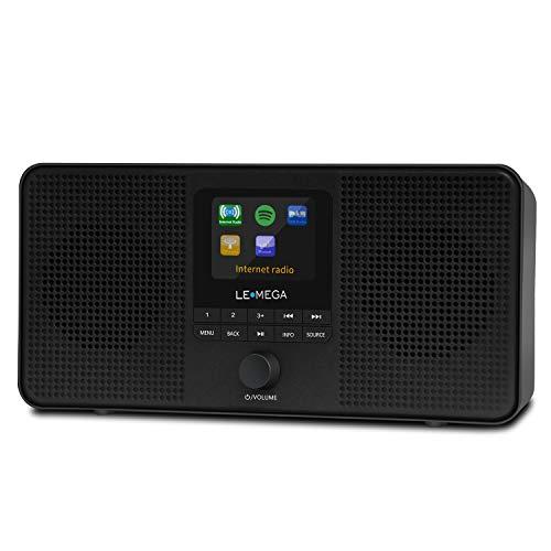 LEMEGA IR4S Portable Stereo Internet Radio,FM Digital...