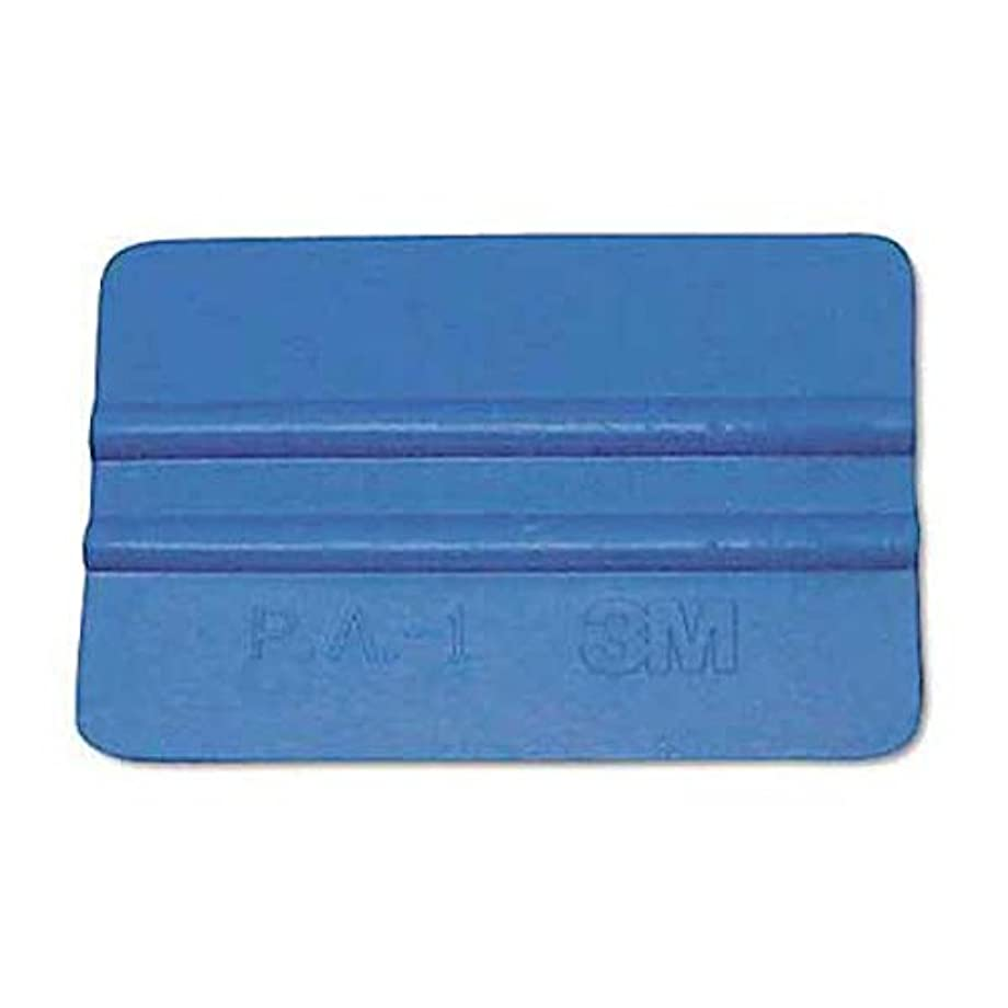 5-Pack 3M Blue Squeegees 5x Black Felt Scratch-Proof Adhesive Decal