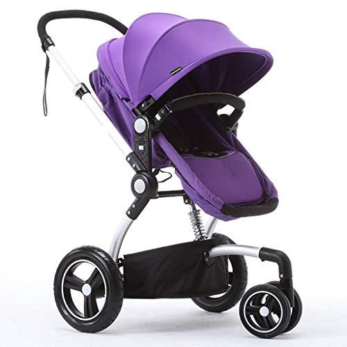 MRXUE Baby Kinderwagen Licht Dubbele driewieler Fiets Twee-staps Stoel Aanpassing Gratis Pneumatische Banden 1-6 Jaar Oude