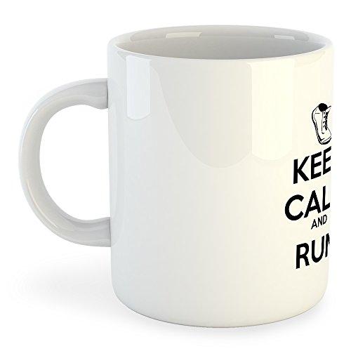 Taza Running Keep Calm and Run