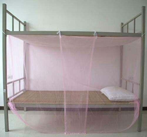 Pericross 4 Corner Poster Bed Canopy Mosquito Net Full Queen King