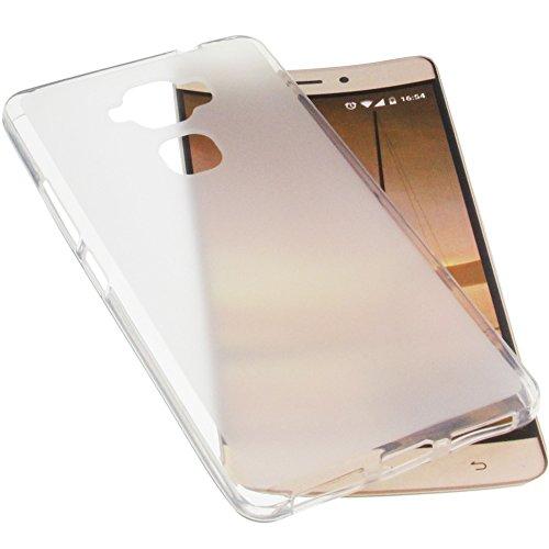 foto-kontor Funda para Hisense Infinity Elegance 1 (E76) Protectora de Goma TPU para móvil Transparente Blanca