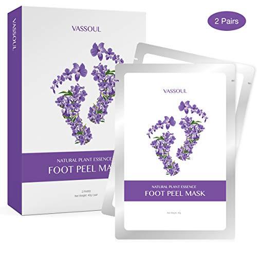 VASSOUL Foot Peel Mask, Feet Callus Remover & Dead Skin Remover, Moisturizing and Whitening Feet,...