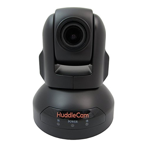 HuddleCamHD USB Conference Cameras with PTZ Control - Webcams for Zoom Video Conferencing (10X, Black)