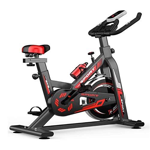 Indoor Spinning ciclo de la bici, Home Fitness Equipment, ajustable ultra silencioso de bicicleta de ejercicios, ejercicio aeróbico, Home Trainer, bicicleta ergómetro-ejercicio con soporte de tabletas