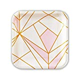 SOLAS Pink and Gold Paper Plates |...