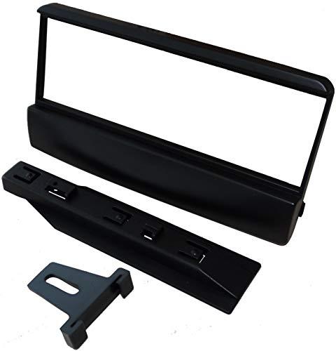 AERZETIX: Adaptateur Façade Cadre Réducteur 1DIN Moulage Cache en Plastique pour remplacer autoradio d'origine par Un Radio Standard de Voiture Auto
