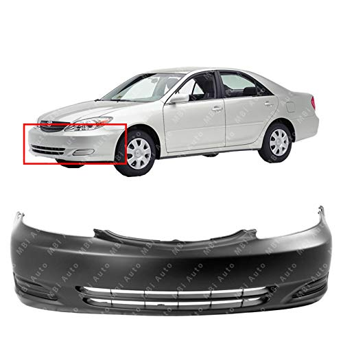 MBI AUTO - Primered, Front Bumper Cover Fascia for 2002-2004 Toyota Camry 02-04, TO1000230
