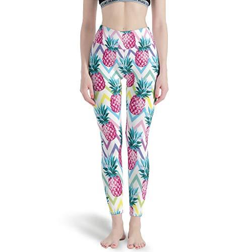 O5KFD&8 Leggings para mujer, no transparentes, ligeros, para yoga, fitness, color blanco, XL