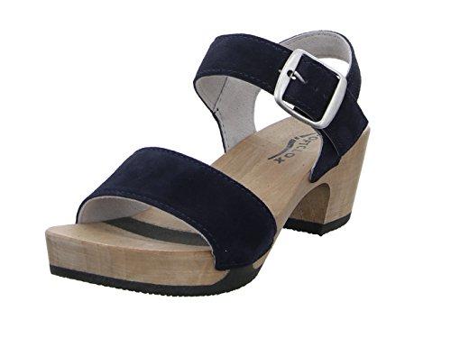 Softclox Damen Sandaletten S3380-13 blau 410164