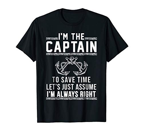 Captain Of The Boat - T Shirt T-Shirt