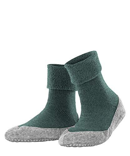 FALKE Damen Cosyshoe W HP Hausschuh-Socken, Grün (Forest Melange 7274), 41-42