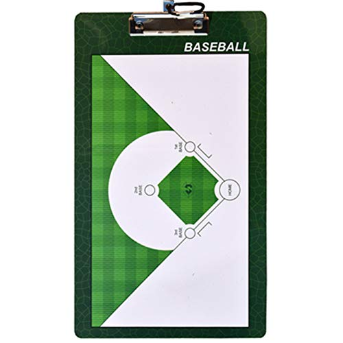 LPPL Baseball und Softball Coach Board-Doppelseitiges Hochwertiges Whiteboard-Magnetic Baseball Tactical Board