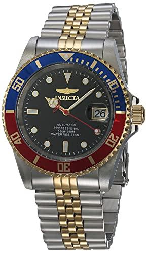 Relógio Invicta Pro Diver 29180, em aço inoxidável, ouro, moda masculina